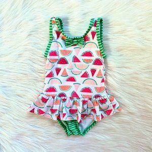 Gymboree Little Girls Watermelon Cutie Swimsuit 2T